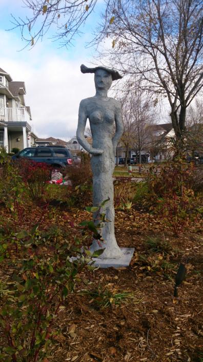 "Sculpture ""Ms. Dogwood"""