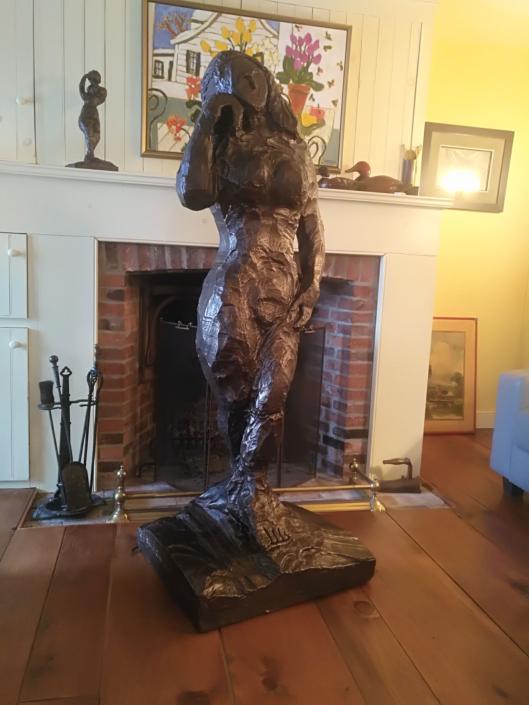 Miss Kawartha Broze Sculpture