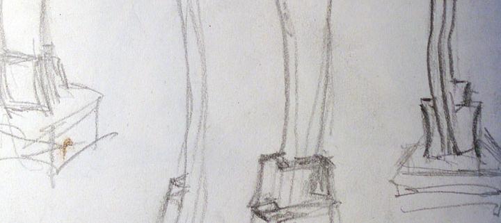 Water Sculpture Sketch