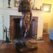 Miss Kawartha Broze Sculpture