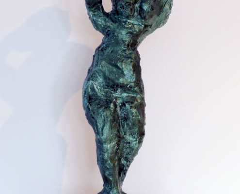 "Little Miss Kawartha Sculpture in ""Interference Green"""