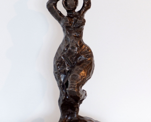 Ms Victoria Sculpture In Cold Cast Bronze