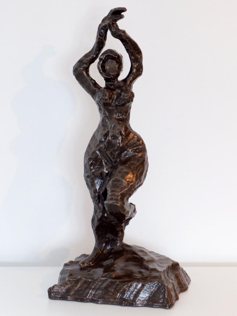 Ms Victoria Sculpture In Cold Cast Bronze