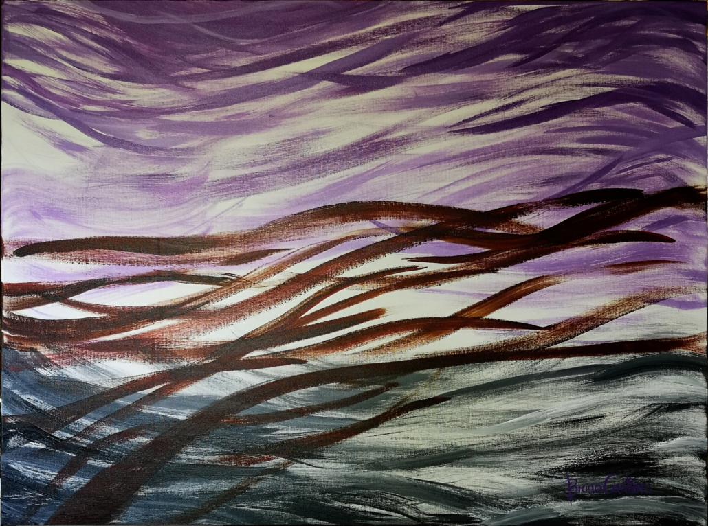 E\Motion Series Acrylic on Canvas