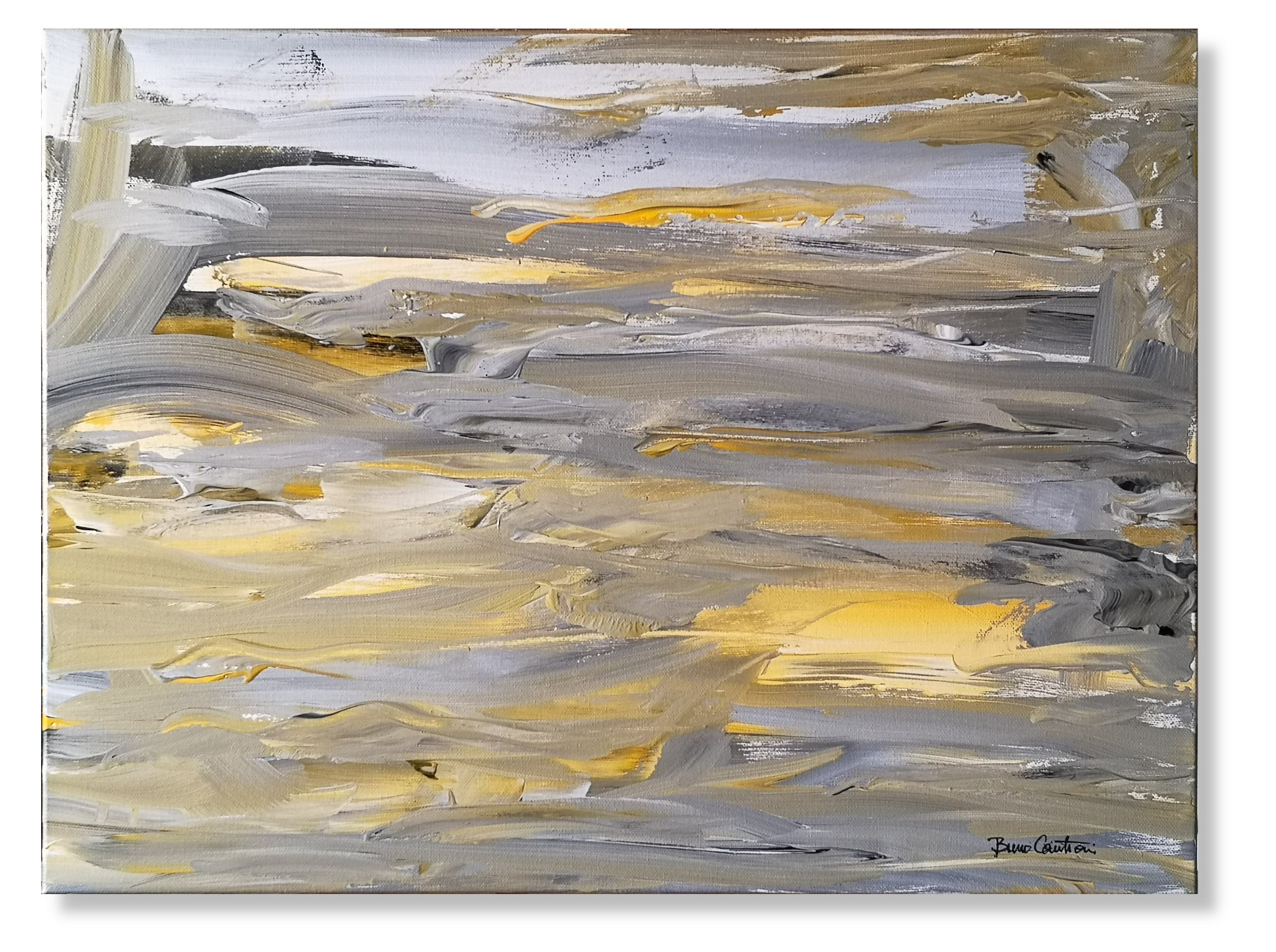"""Chroma Series """"After the Storm"""" - 45 cm x 61 cm (18″ x 24″)"""