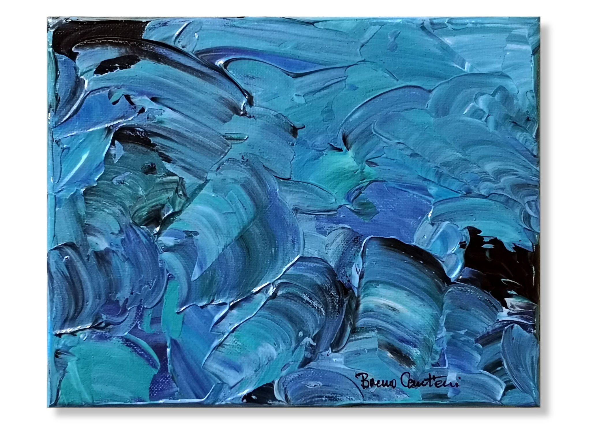 """Blue Notes 1 - 20.5 cm x 25.5 cm (8\""""x10\"""")"""
