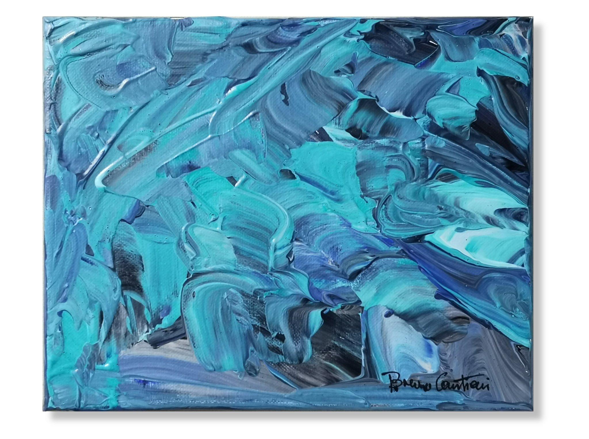 """Blue Notes 2 - 20.5 cm x 25.5 cm (8""""x10"""")"""