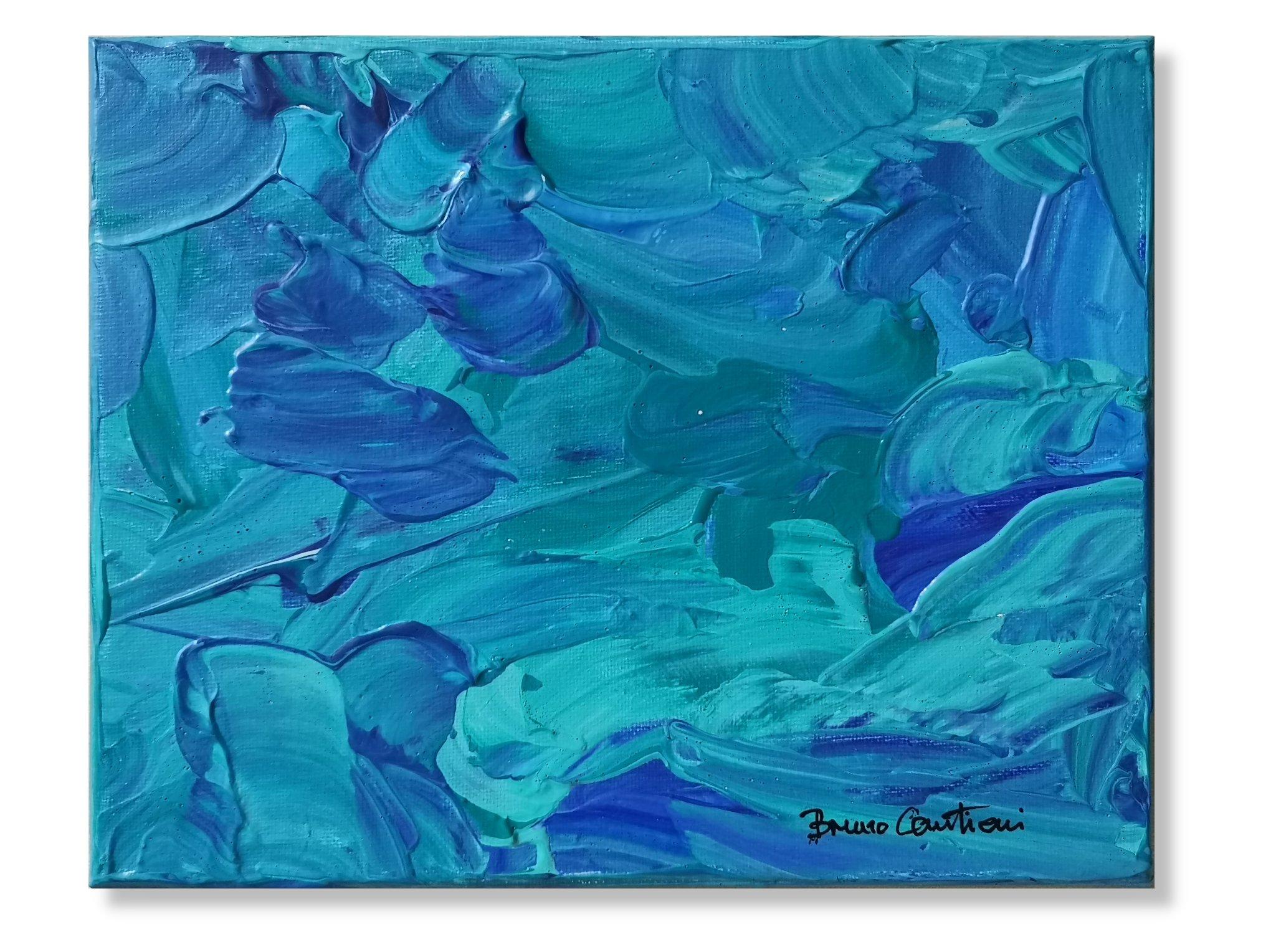 """Blue Notes 3 - 20.5 cm x 25.5 cm (8""""x10"""")"""